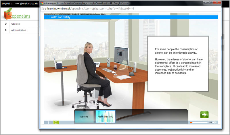 e-learning Safety's ergonomic consultancy