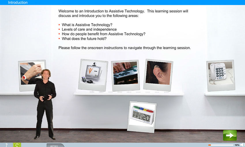 Assistive Technology e-Learning