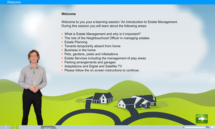 Estate Management e-Learning