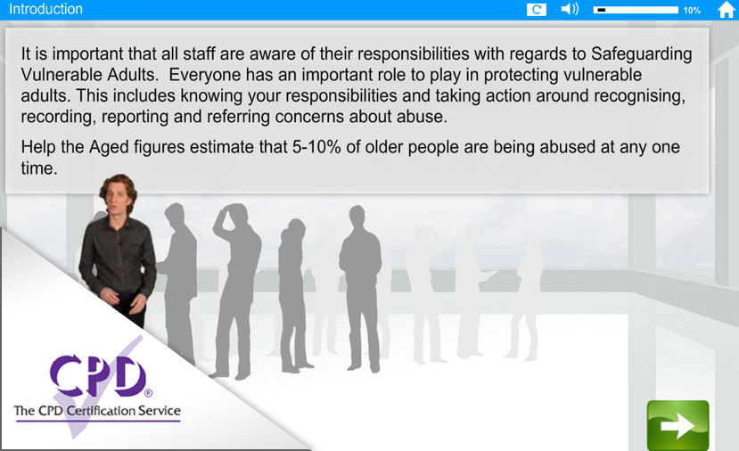 Safeguarding Adults e-learning course