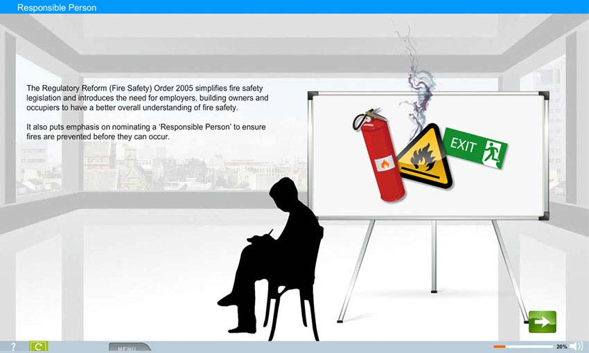Fire Safety e-learning course